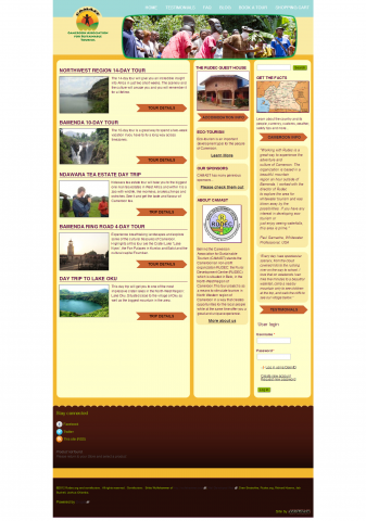 Screenshot of camast.com